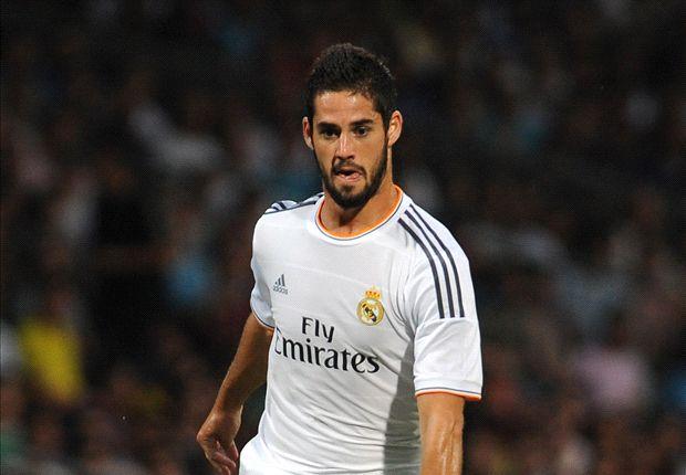 Rất có thể Isco sẽ đá thanh vị trí của Modric trong trận đấu với Malaga