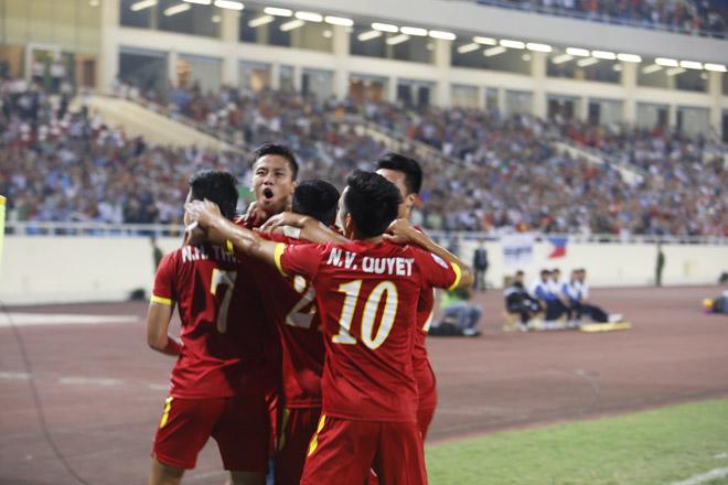 Chiến thắng 3 -1 thuộc về đội tuyển Việt Nam