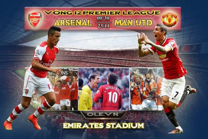 Arsenal vs Man Utd: Cuộc chiến không khoan nhượng