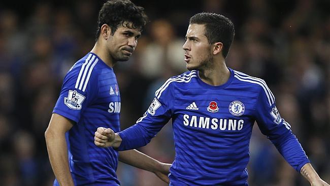 Chelsea đang bay cao nhờ bộ tứ tấn công