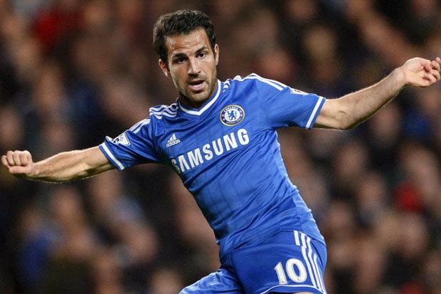 Fabregas đang chơi thực sự thăng hoa dưới sự dẫn dắt của Mourinho trong màu áo Chelsea