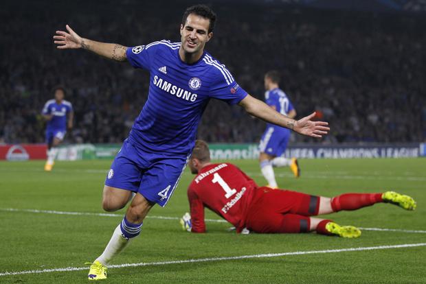 Fabregas góp công lớn trong  thành tích ấn tượng của Chelsea