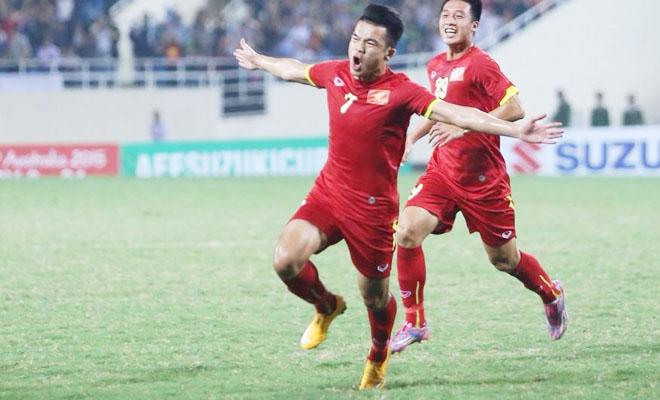 Hoàng thịnh mở tỉ số cho đội tuyển Việt Nam