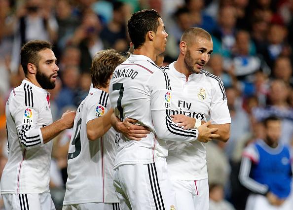 Real Madrid đang bay cao trên chiến thắng