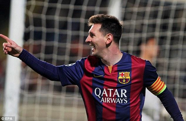 Messi chơi bùng nổ hơn trong vị trí mới của mình