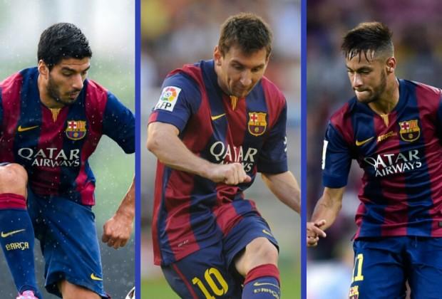 Đưa Messi đá lệch phải dường như là phương án tối ưu của Barca