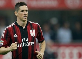 Torres vẫn chưa hòa nhập được tại Serie A