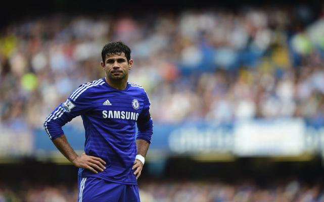 Costa đang cho thấy mình sa sút phong độ so với đầu màu giải