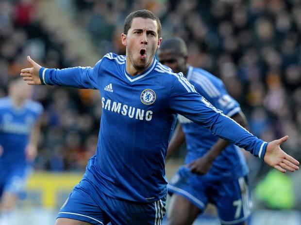 Hazard tỏa sáng mở tỉ số cho Chelsea
