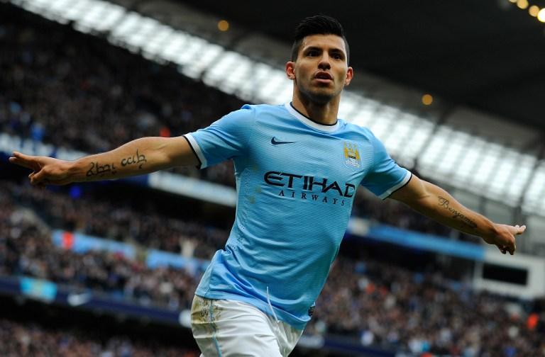 Aguero đang là nguồn cảm hứng của Man City