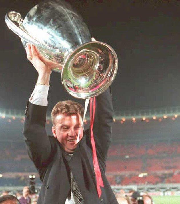 Van Gaal thực sự được biết đến khi giành C1 năm 1995