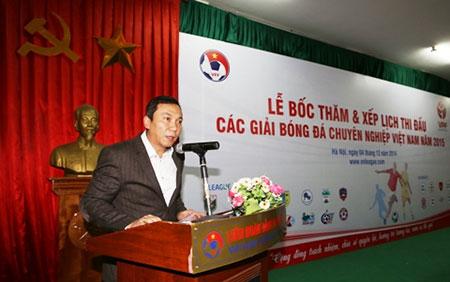 Ông Trần Quốc Tuấn phát biểu tại buổi lễ