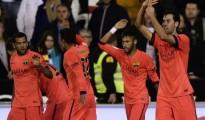 Busquets đã tỏa sáng đúng lúc mang về bàn thắng cho Barca