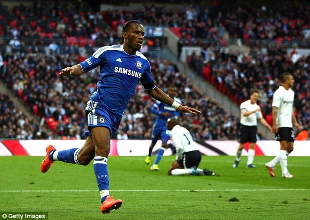 Mourinho đã khiến Drogba đá như thời anh làm mưa làm gió cùng Chelsea