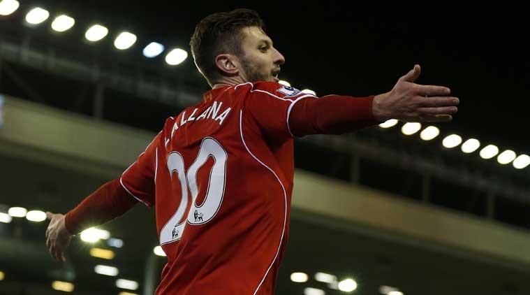 Lallana trở thành người hùng của Liverpool với cú đúp ghi được