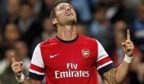 Giroud đã trở lại và NHM arsenal có quyền hi vọng vào cái duyên ghi bàn vào lới Southampton của anh