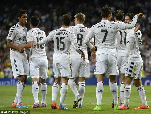 Real rất có thể sẽ vượt qua kỷ lục 18 trận toàn thắng của Barca