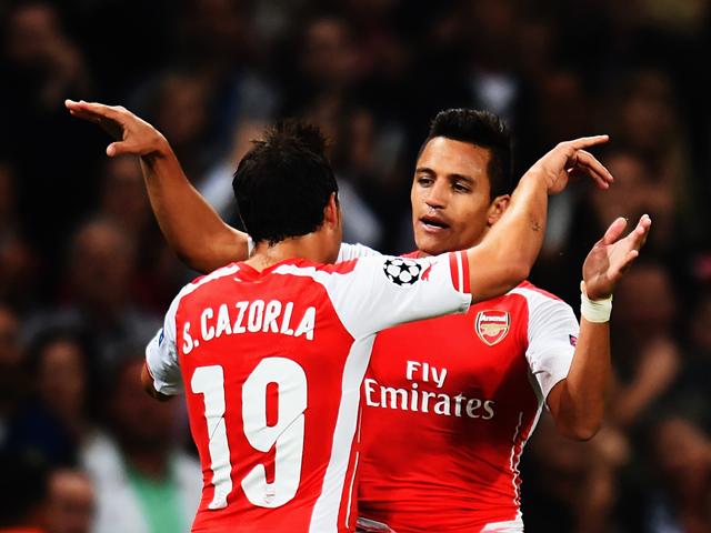 Sanchez chính là niềm hi vọng của Arsenal trong trận đấu vô cùng quan trọng này