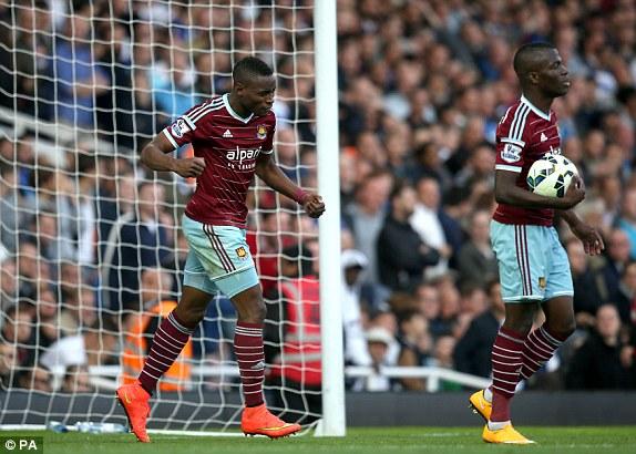 West Ham cũng không phải là một đội bóng dễ chơi