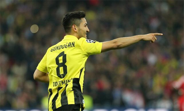 Gundogan sắp rời Dortmund