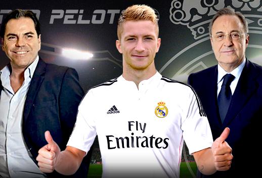 Reus đã đoạt thỏa thận sơ bộ với Real Madrid