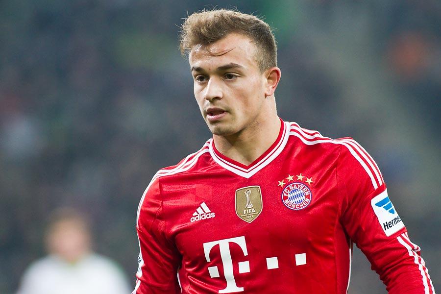 Bayern ra giá bán Xherdan Shaqiri