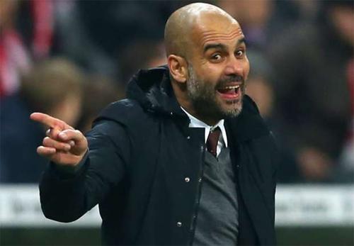 Guardiola nhiều khả năng sẽ tới Anh sau ba năm làm việc tại Đức. Ảnh: Reuters