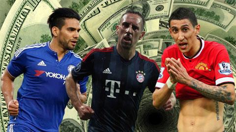 11 cầu thủ tụt giá thảm hại trong năm 2015