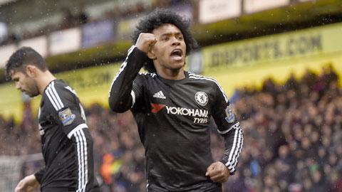Chelsea hồi sinh nhờ vào sức mạnh của Willian