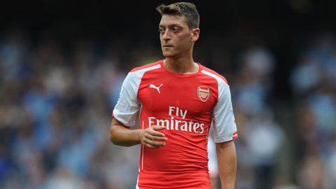 Oezil bị chế nhạo thậm tệ sau trận thua của Arsenal