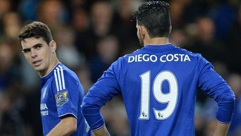 Oscar lên tiếng phủ nhận có quan hệ bất hòa với Costa