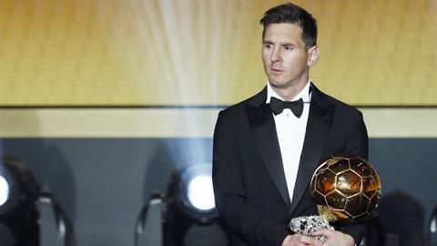 Quả bóng vàng 2015 có thực sự xứng đáng với Messi