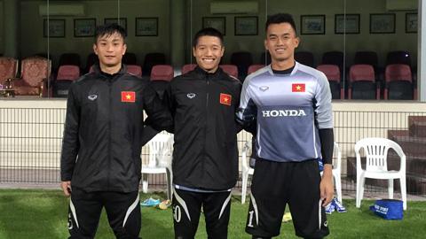 Thủ môn của U23 Việt Nam đang rất thiếu