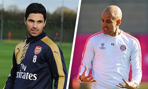 Arteta được cho là có nhiều tố chất phù hợp với phong cách huấn luyện của Guardiola.