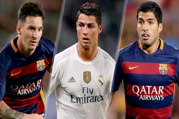 Ai chơi hiệu quả nhất trong bộ ba Ronaldo - Suarez - Messi
