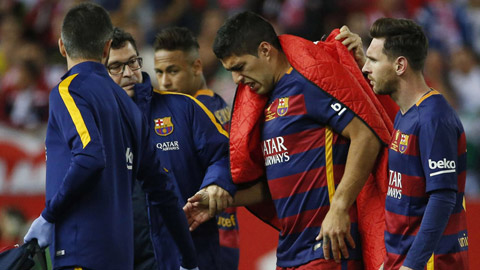 Suarez nén đau cố dự Copa America