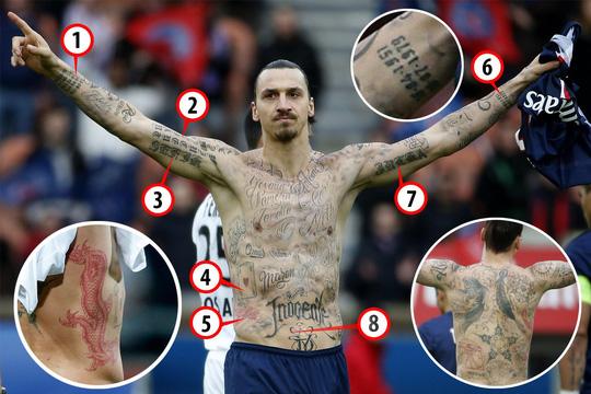 Tin chuyển nhượng - Ibrahimovic và 64 hình xăm bí ẩn