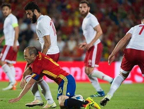 Kết quả trực tuyến - Tây Ban Nha thua sốc trước Georgia