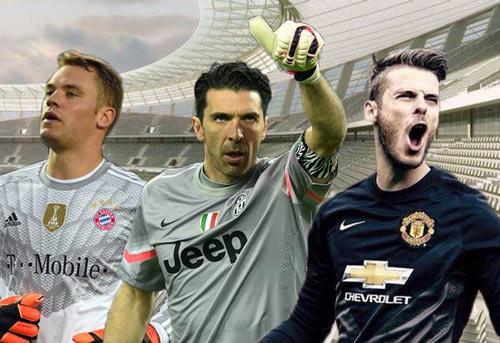 Neuer, De Gea và Buffon tranh tài bắt penalty ở Euro 2016