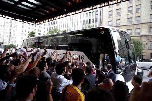Real Madrid du đấu tại Canada khiến nhiều fan nghẹn ngào