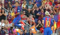 Suarez thán phục Messi