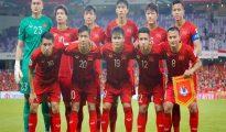 Đội tuyển Việt Nam tăng 1 bậc trên BXH FIFA tháng 04/2019.
