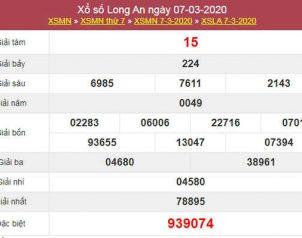 Soi cầu XSLA hôm nay 14/3/2020 - KQXS Long An hôm nay