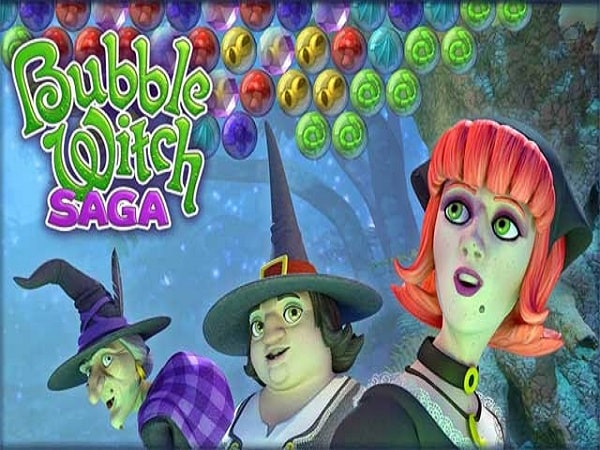 Game trí tuệ Bubble Witch Saga