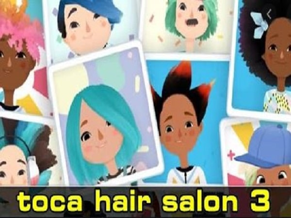 Game làm tóc Toca Hair Salon 3