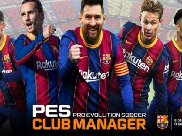 game quản lý bóng đá PES Club Manager .