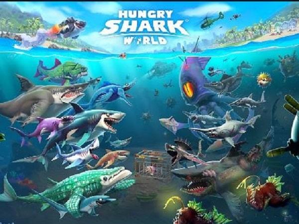game cá mập hấp dẫn