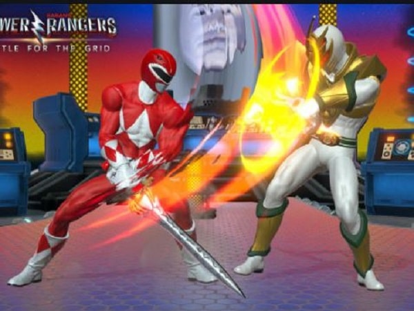Game Power Rangers: Battle for the Grid