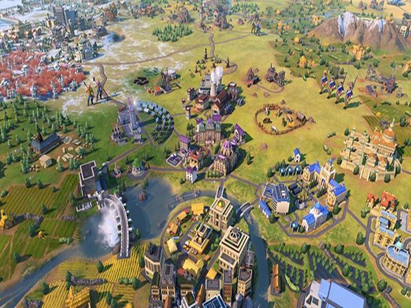 Game dàn trận PC Civilization series