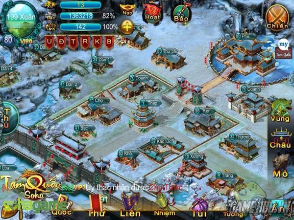 Game chiến thuật tam quốc SoHa
